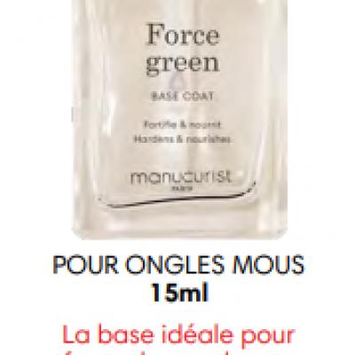 Manucurist force green